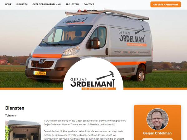 Website Gerjanordelman.nl online!